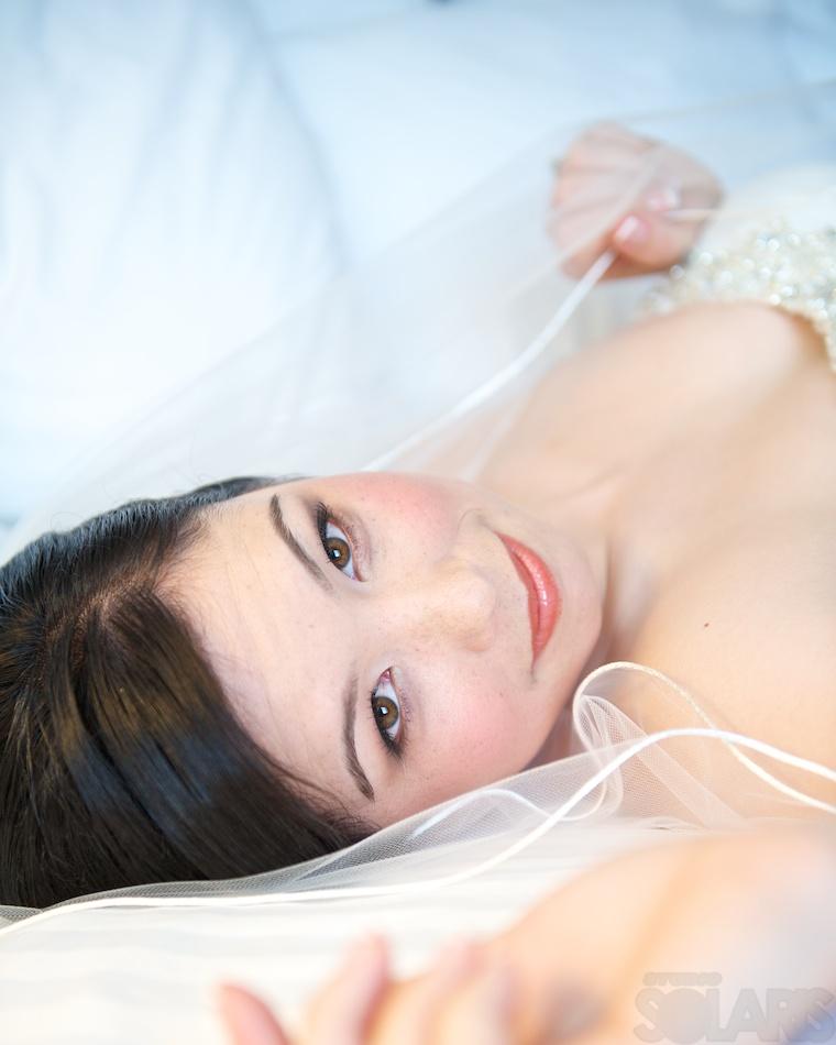 Chinese bridal makeup & hair